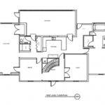Kitchen Floor Plans Before After Traditional Home