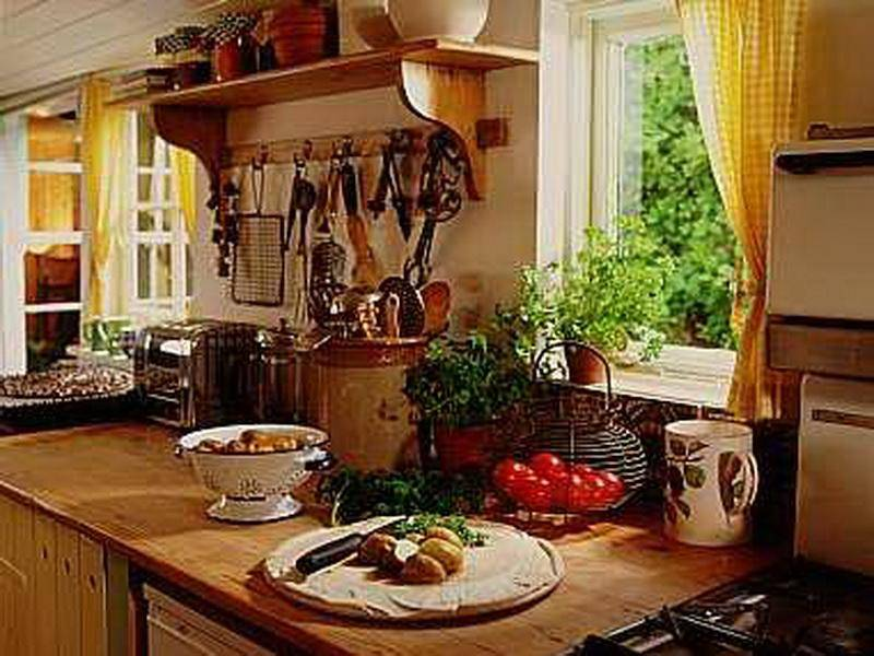 Kitchen Good French Country Decorating Ideas