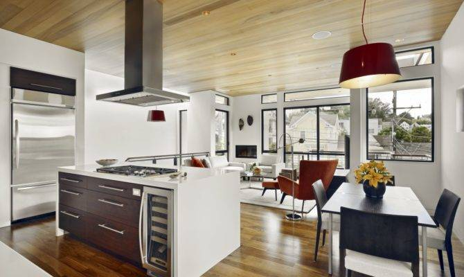 Kitchen Open Dining Room Designs