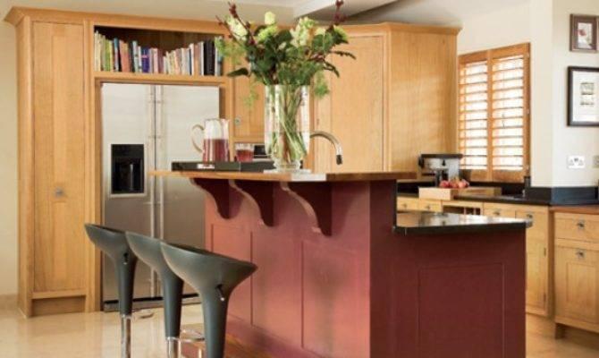 Kitchen Split Level Island Unit Design