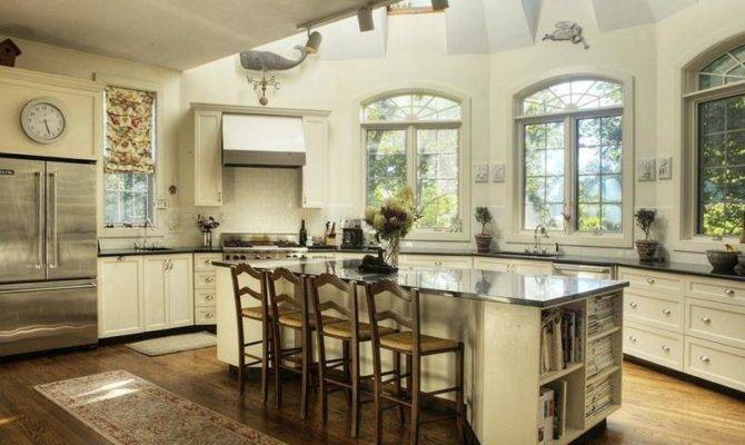Kitchens Jaw Dropping Cathedral Ceilings