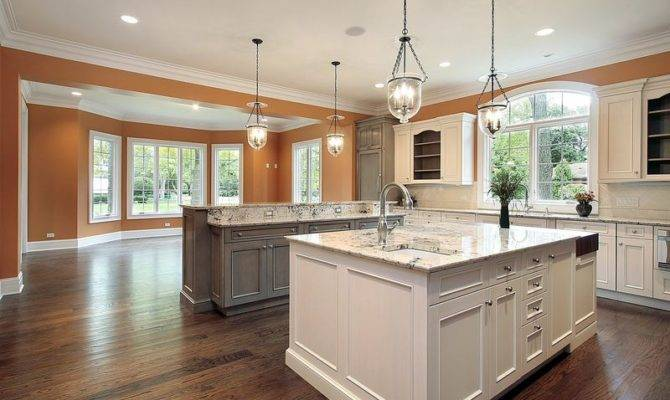 Kitchens Traditional Two Tone Kitchen Cabinets