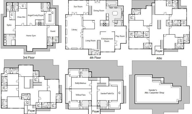 Know Charmed House Floor Plan Daymix