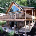 Kodiak Log Home Floor Plan Katahdin Cedar Homes