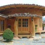Korean Cordwood Cobwood Soil Houses