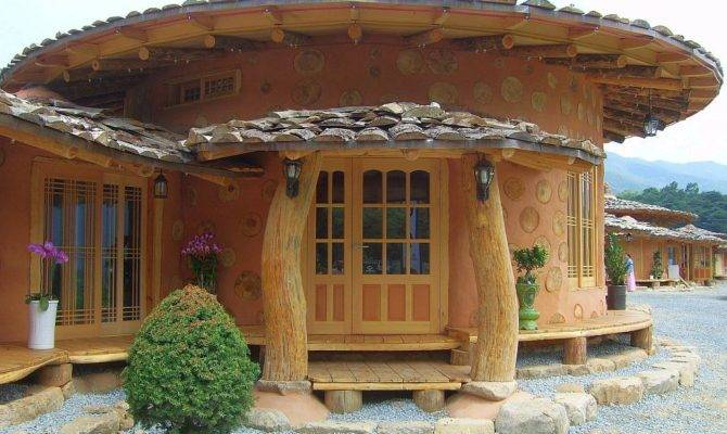 Korean Cordwood Cobwood Soil Houses
