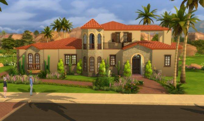 Lacey Loves Sims Spanish Villa
