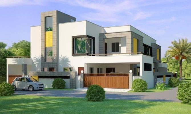 Lahore India Beautiful House Kanal Front Elevation