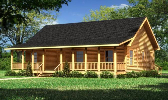 Lake Cabin Plans Lakeshore Southland Log Homes