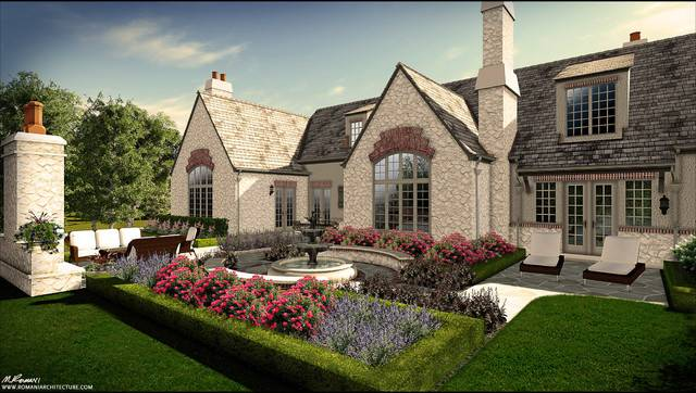 Lake Forest English Country Design Traditional