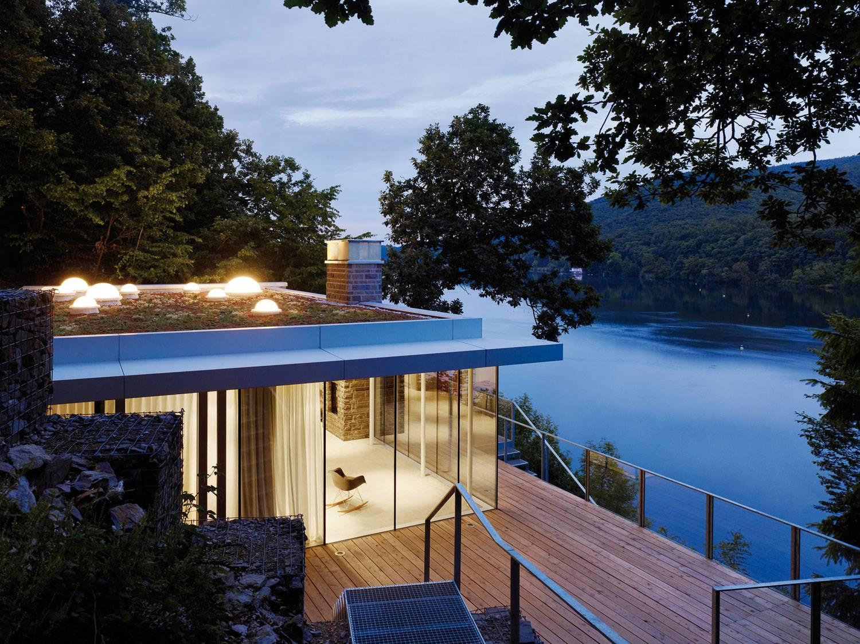 Lake House Overlooking Rur Designed Lhvh Architekten