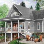 Lake House Plans Walkout Basement Fresh Brown Hill