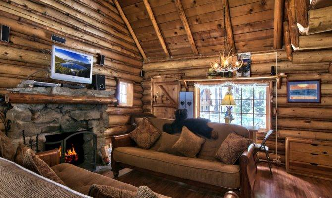Lake Tahoe Log Cabin Small House Bliss