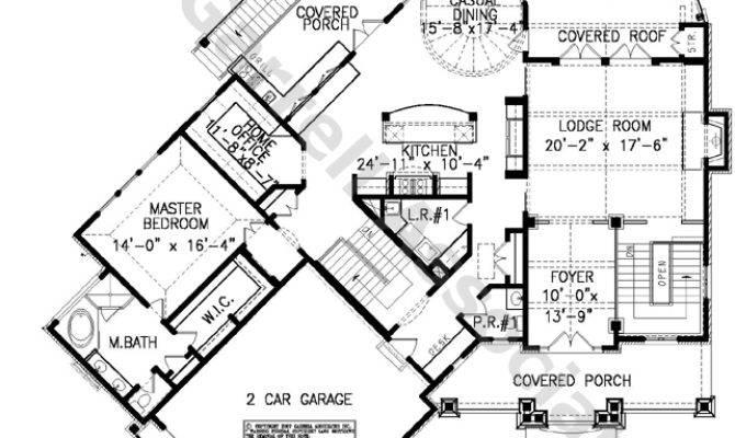 Lake Timber Cottage House Plan Plans Garrell