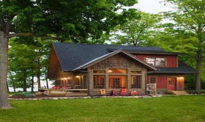 Lakeside Cottage House Plans Morespoons