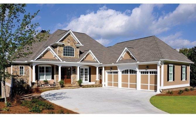 Lakeside Perfection Hwbdo Craftsman Builderhouseplans