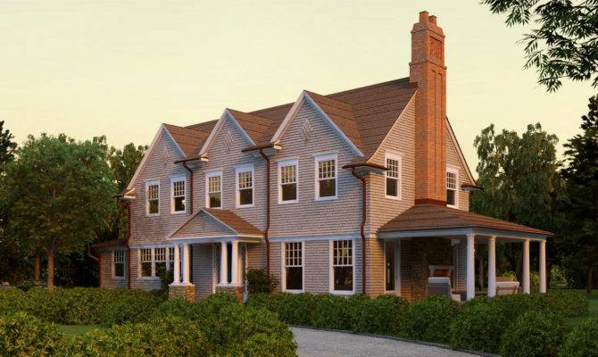 Larabee Cove Shingle Style Home Plans David Neff
