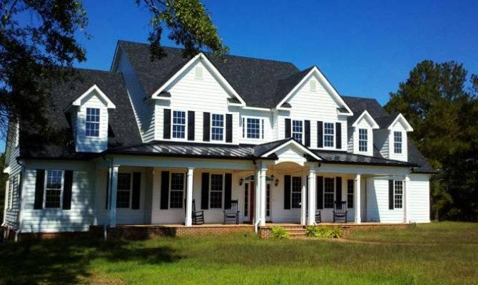 Large Country Home Floor Plan High Farmhouse