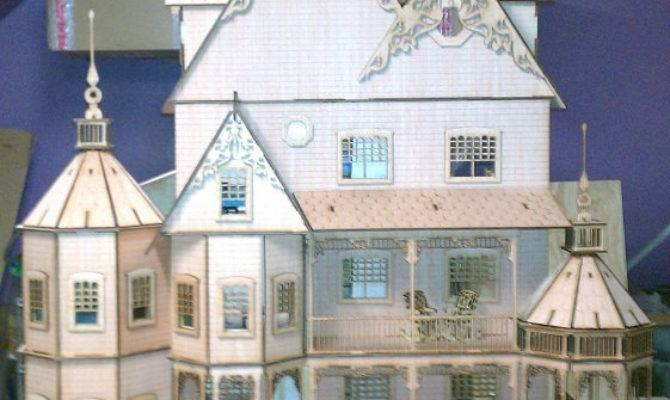 Large Dollhouse Plans Wooden Global