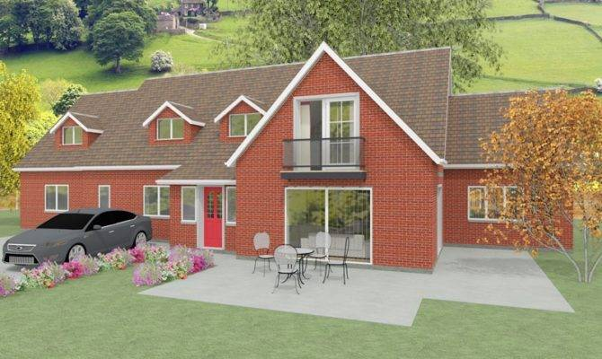 Large Dormer Bungalow Designs Churchfield