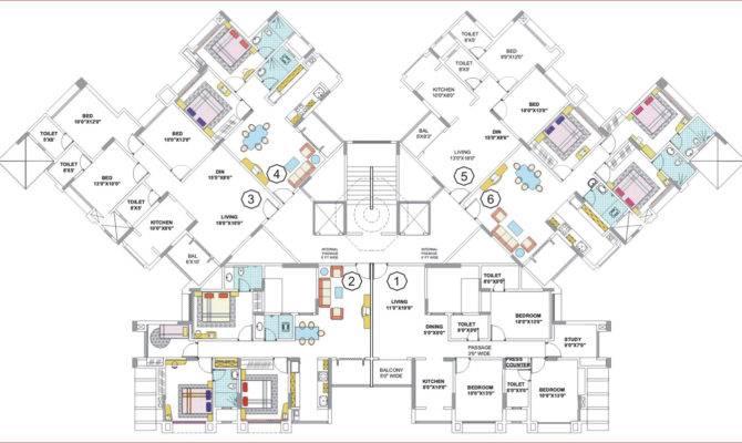 Large House Floor Plans Modern