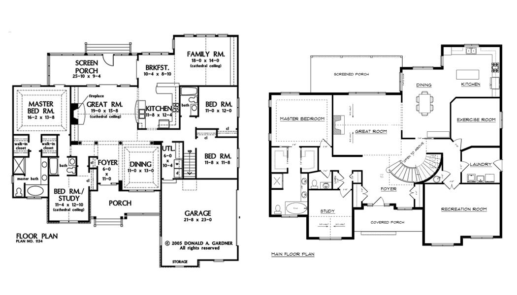 Large House Plans Best Ideas