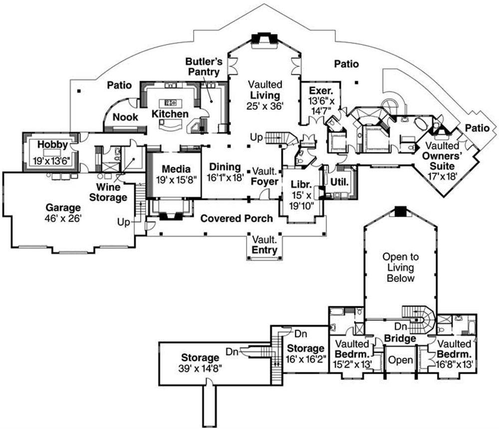 Large House Plans Homestartx