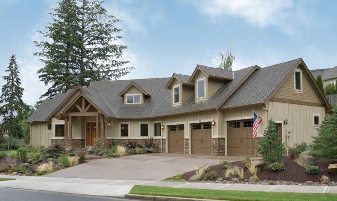 Large Modern Craftsman Home Plans House Plan