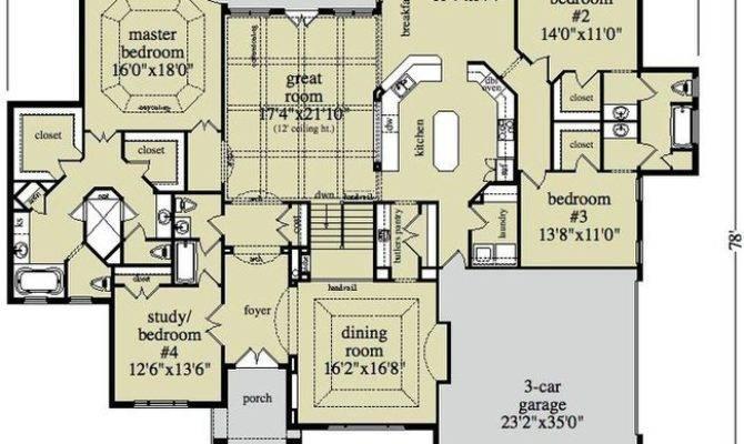 Large Ranch Home Plans Smalltowndjs
