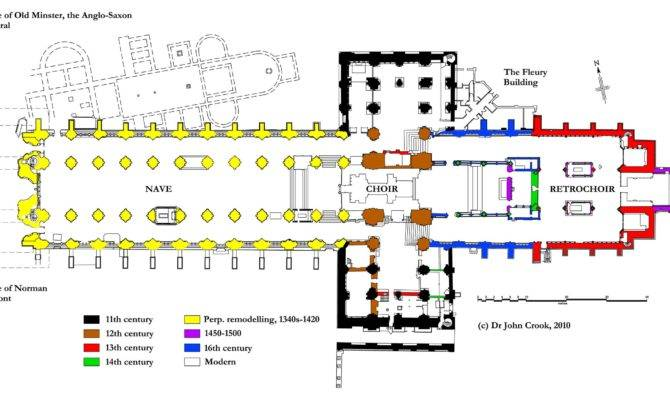 Late Gothic Cathedral Floor Plan