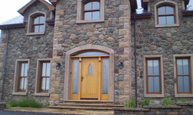 Law Son House Built Granite Pit Stone