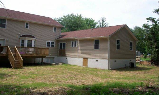 Law Suite Addition Back House Built