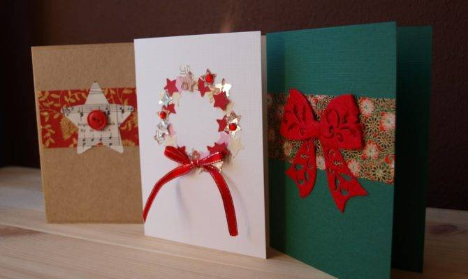 Lay Outs Which Can Followed Making Holiday Cards Home