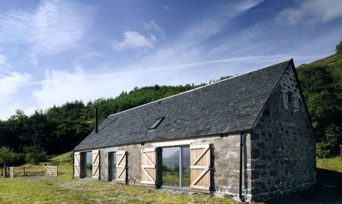 Leachachan Barn Rural Design Small House Bliss