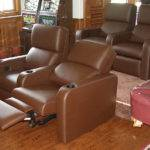 Leather Theater Sofa Preston Recliner Sam