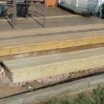 Lessons Garden Building Box Step Deck