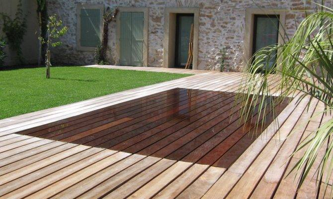 Leveable Rise Fall Swimming Pool Floor South France