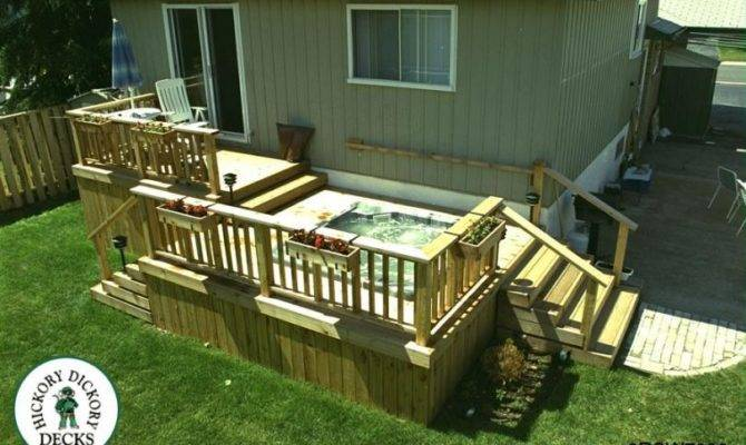 Level Diy Deck Plans