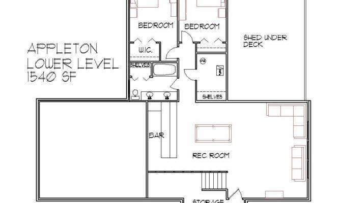 Level House Plans Floor