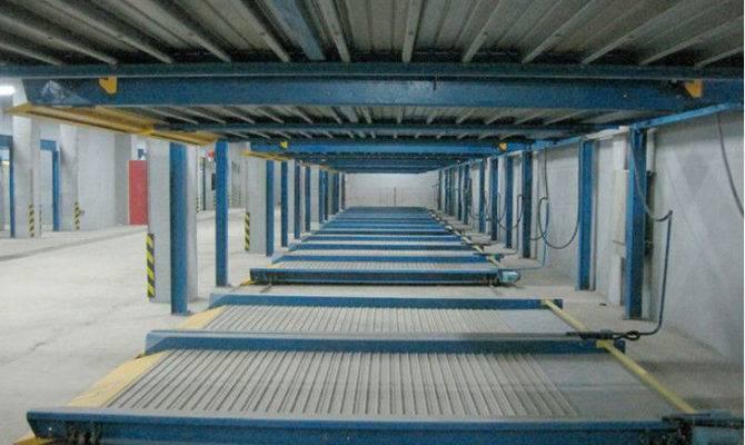 Level Mechanical Parking Equipment Parvehicle Automated