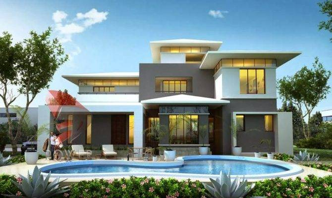 Like Home Designs Render Modern House Rendering
