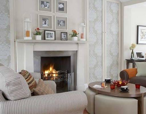 Living Room Designs Fireplace Creative Home Designer