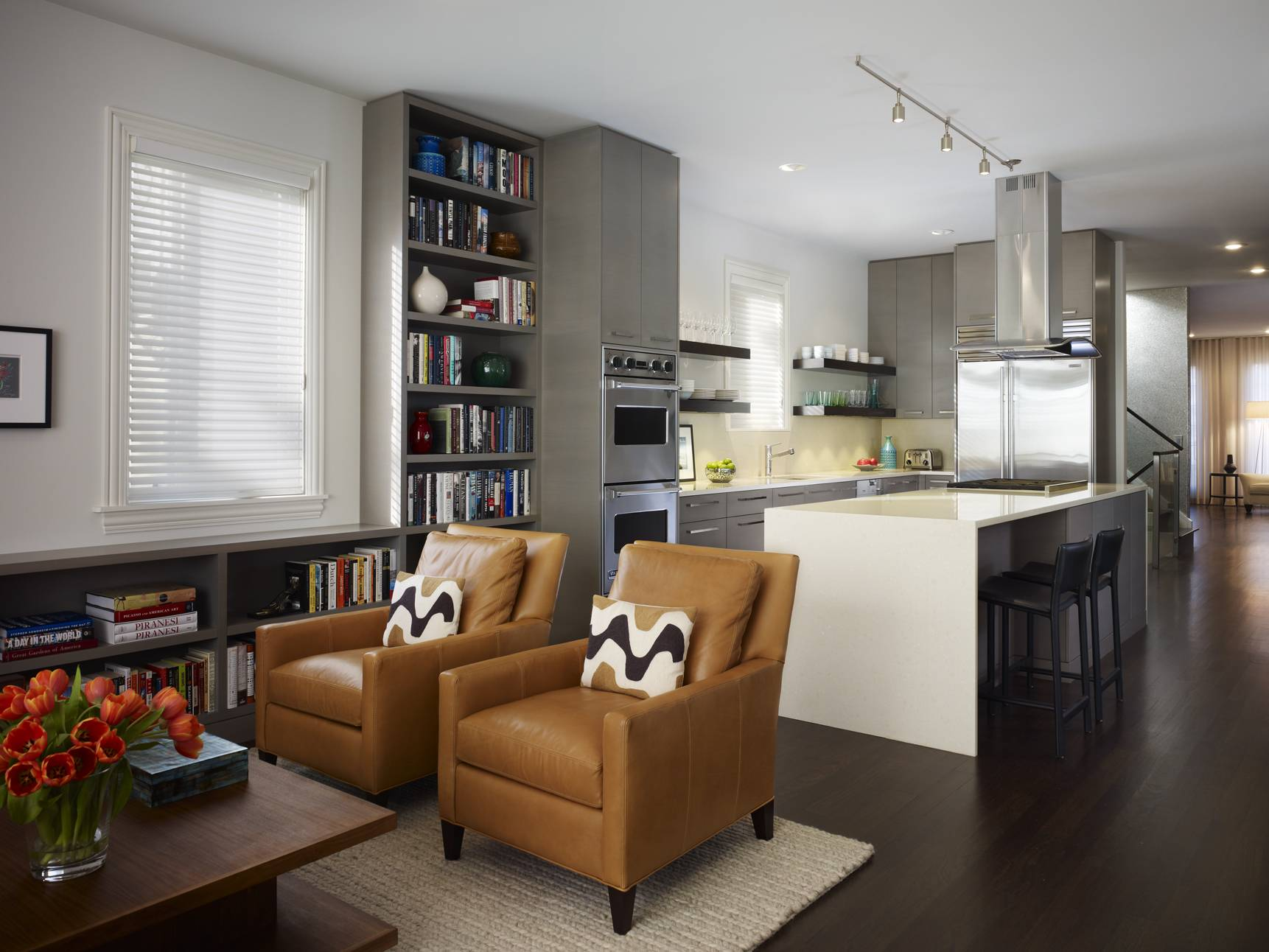 Living Room Kitchen Combined All