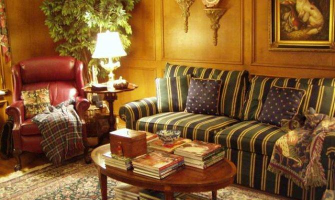 Living Room Powder English Country Style