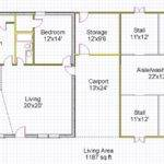 Living Space Ideas Amazing Horsehouse Floor Plan Spacious