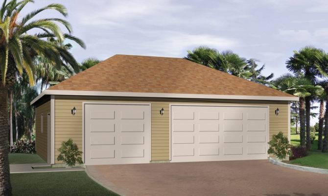 Lizette Three Car Garage Plan House Plans More