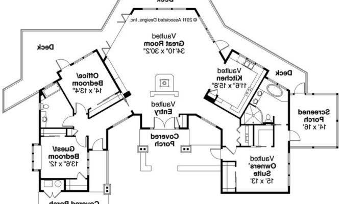 Lodge House Plans Associated Designs Sandpoint Floor Plan