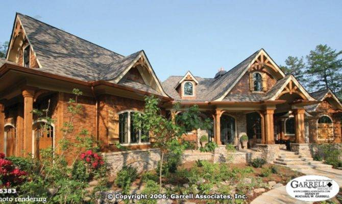 Lodge Style Home Plans Western House Rustic