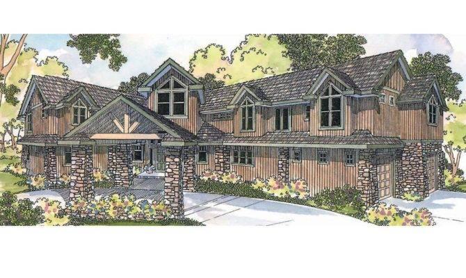 Lodge Style House Plans Bentonville Associated Designs