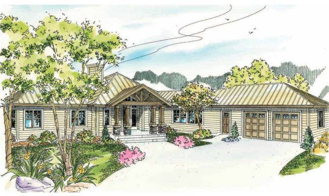 Lodge Style House Plans Willow Creek Associated Designs